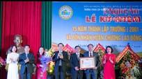 Trường Trung cấp nghề  Kinh tế - Công nghiệp - Thủ công nghiệp Nghệ An đón nhận Huân chương Lao động hạng Nhì