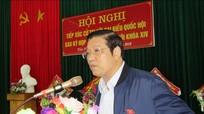 Trưởng Ban Nội chính Trung ương Phan Đình Trạc tiếp xúc cử tri tại Quế Phong