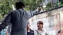 Vụ giám đốc nổ súng dọa phụ nữ: Không thể chấp nhận hành vi bạo lực!