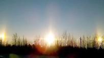 Ba 'Mặt Trời' rực sáng cùng lúc trên bầu trời