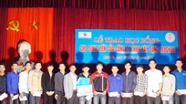 20 sinh viên Trường Cao đẳng nghề Việt Hàn được nhận học bổng