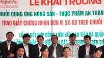 Công ty CP ĐTPT Nông nghiệp Tâm Nguyên: Đơn vị sản xuất - kinh doanh theo chuỗi giá trị an toàn