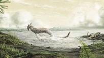 Tìm thấy hóa thạch động vật đầu tiên đi lại trên đất liền