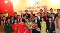 Đồng chí Nguyễn Lương Hồng tái đắc cử chức Chủ tịch Hội Chữ thập đỏ tỉnh