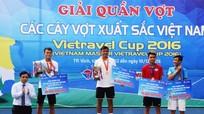Lý Hoàng Nam vô địch giải các tay vợt xuất sắc nhất Việt Nam