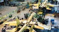 Bên trong nhà máy chế tạo tiêm kích bom Su-34 Nga