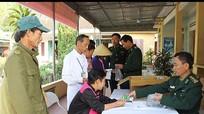 Khám và cấp phát thuốc cho hơn 130 bệnh nhân nghèo ở TX. Hoàng Mai