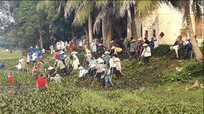 600 đoàn viên thanh niên, nông dân làm thủy lợi