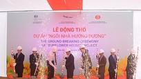 Khởi công dự án Ngôi nhà Hướng Dương tại Nghệ An