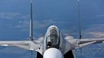 Tiêm kích Su-30SM thị uy trên bán đảo Crimea