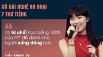 Nữ sinh Nghệ 'nói' 7 thứ tiếng lọt top 10 gương mặt trẻ nổi bật nhất năm 2016