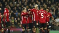 Ibrahimovic lập cú đúp, M.U thắng trận thứ ba liên tiếp