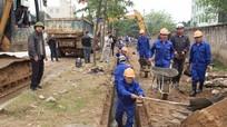 TP Vinh phát động ra quân chống ngập úng vệ sinh môi trường đô thị