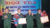 Trung đoàn 335 tổ chức các hoạt động chào mừng ngày truyền thống