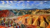 Những dãy núi cầu vồng sặc sỡ trên thế giới