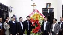 Lãnh đạo tỉnh chúc mừng các tổ chức tôn giáo nhân dịp Giáng sinh