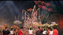 Những khoảnh khắc ấn tượng trong đêm hội Sắc xuân miền Tây.