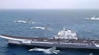 Tàu sân bay Trung Quốc đi vào Biển Đông