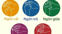 Cách massage ngón tay giảm stress của người Nhật