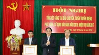 Đẩy mạnh quảng bá hình ảnh Thị xã Hoàng Mai trên báo Đảng