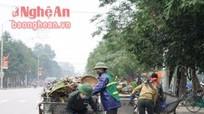 TP Vinh: Sẽ tăng gấp đôi giá dịch vụ thu gom, vận chuyển rác thải sinh hoạt