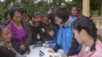 Hơn 800 người dân vùng cao được khám, phát thuốc miễn phí