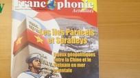 Tạp chí nổi tiếng của Pháp ra số đặc biệt về Biển Đông