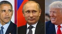 Bỏ qua Obama, Putin chúc mừng năm mới Trump