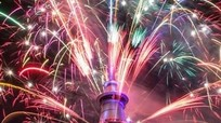 Thế giới tưng bừng đón năm mới 2017