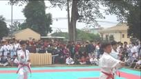 Thái Hòa: 350 vận động viên tham gia giải karatedo mở rộng năm 2017