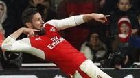 Giroud lập siêu phẩm, Arsenal hạ Crystal Palace vào tốp 3