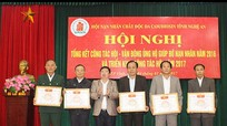 Nghệ An: Hơn 1,2 tỷ đồng hỗ trợ nạn nhân chất độc da cam/ Dioxin