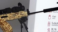Nga thử nghiệm súng cầm tay RPK-16 thế hệ mới