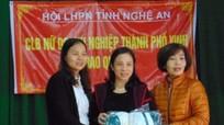 Hội LHPN tỉnh: Trao quà Tết cho phụ nữ nghèo Quỳnh Lưu