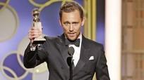 Tom Hiddleston 'hứng gạch' dù giành giải Quả cầu vàng