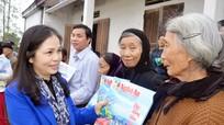 Báo Nghệ An và Tập đoàn Mường Thanh tặng quà Tết cho hộ nghèo Quỳnh Lưu