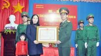 Truy tặng Huân chương Bảo vệ Tổ quốc và bằng 'Tổ quốc ghi công' cho liệt sỹ Cao Xuân Tú