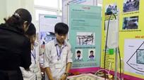 135 sản phẩm dự thi Sáng tạo khoa học kỹ thuật học sinh trung học
