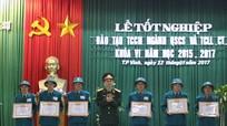 60 cán bộ tốt nghiệp Chỉ huy trưởng quân sự xã, phường