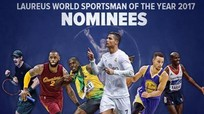 Ronaldo, Murray, Bolt 'đấu đá' tranh bá chủ hành tinh