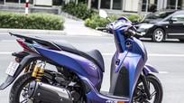 Honda SH 300i tím xanh của tay chơi Sài Gòn