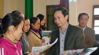 Báo Nghệ An và Tập đoàn Mường Thanh tặng quà Tết cho hộ nghèo Hưng Nguyên