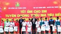Hội đồng đội Trung ương tặng 1.000 suất quà cho học sinh nghèo