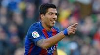 Suarez chói sáng, Barca trở lại vị trí thứ hai Liga