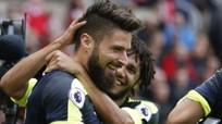 Chiến thắng 4-0, Arsenal trở lại nhóm dẫn đầu