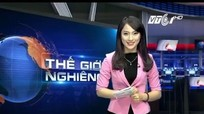 Khánh Vy '7 thứ tiếng' trở thành MC bản tin thời sự quốc tế