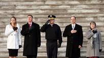 Lính Mỹ đóng thế ông Trump trong buổi diễn tập nhậm chức