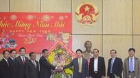 Tỉnh Khăm Muộn (Lào) chúc Tết tỉnh Nghệ An