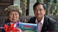 Báo Nghệ An thăm hỏi, chúc Tết độc giả cao tuổi