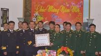 Bộ Tư lệnh vùng 1 Hải quân chúc Tết Bộ đội Biên phòng Nghệ An